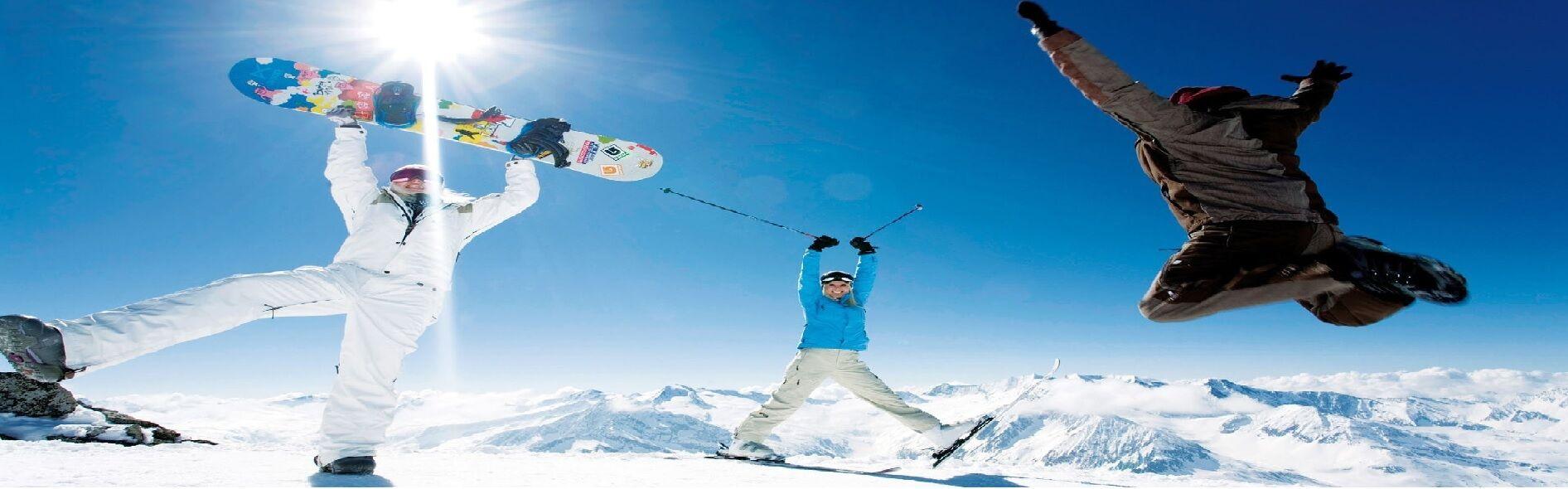 Ski's en Snowboards