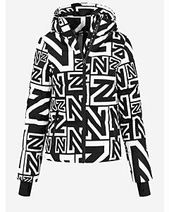 NIKKIE - Logo Mix Jacket - zwart