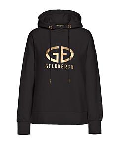 GOLDBERGH - Harvard hooded - zwart combi