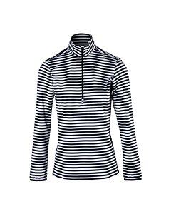 BRUNOTTI - rodia-stripe women fleece - Zwart