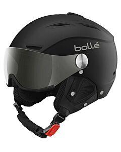 BOLLÉ - Backline Visor Soft Black&Silver - Zwart - grijs