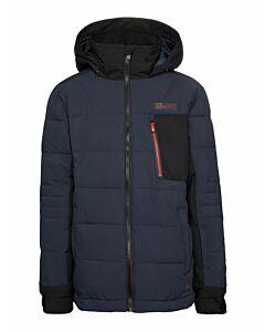 PROTEST - slope jr snowjacket - Zwart-Multicolour
