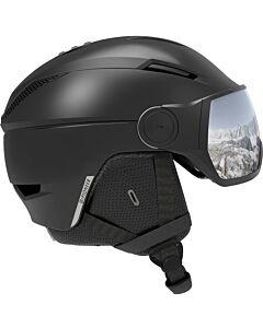 SALOMON - Helmet Pioneer Visor - zwart combi