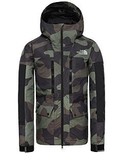 THE NORTH FACE - m goldmill parka - Groen-Multicolour